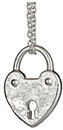 tiffany heart lock