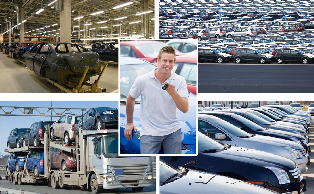 Factory, Factory Lot, Transport, Dealership