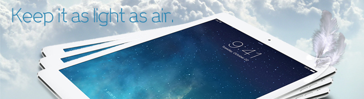 Apple iPad Air: Now Available