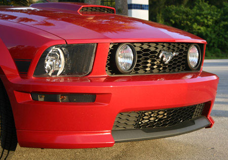 05+ Mustang GT CS Lower Grille Inserts