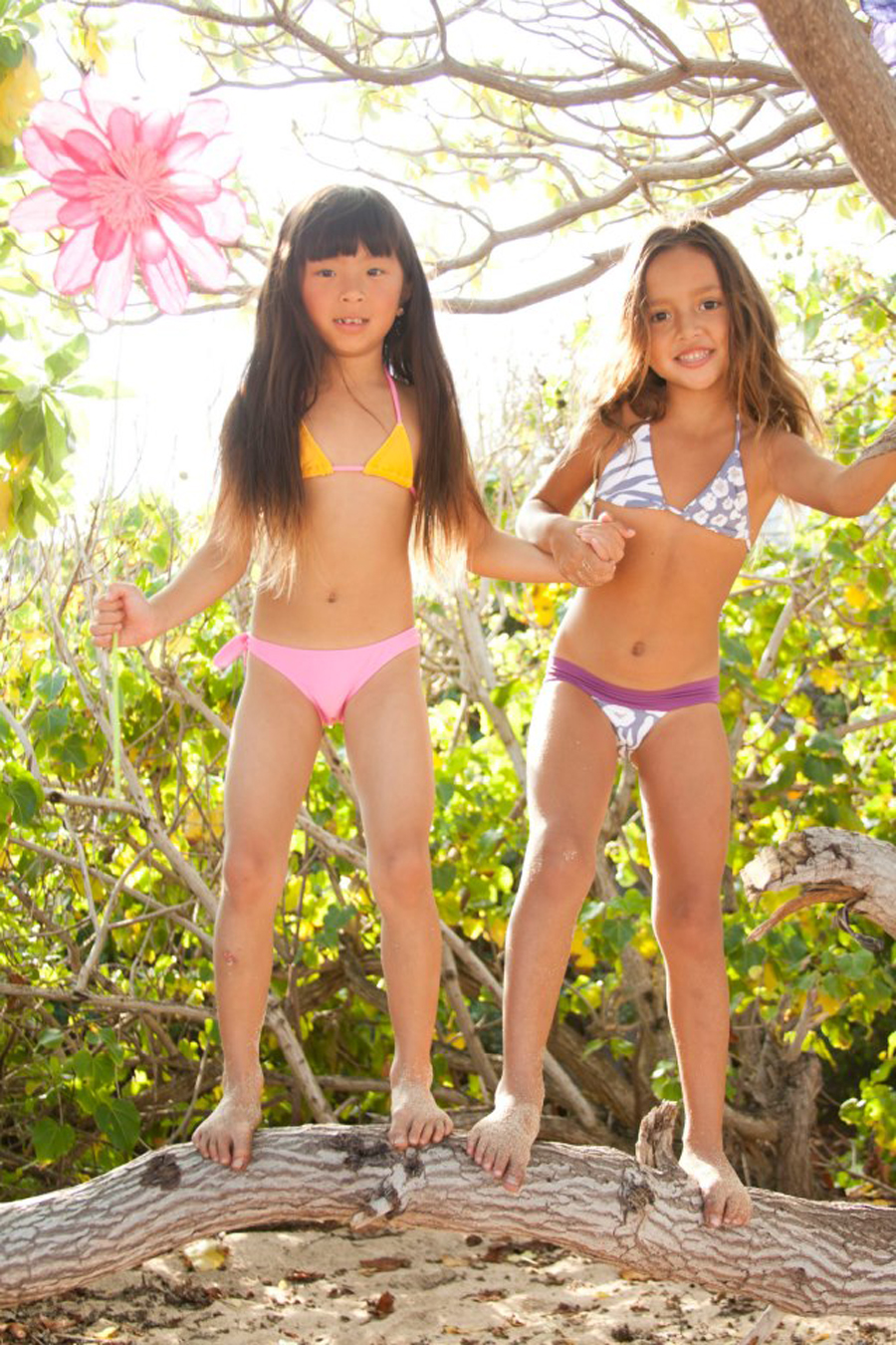 Too young teen small bikinis.