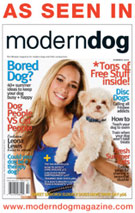 Gwen Gear SF as seen in Modern Dog Magazine