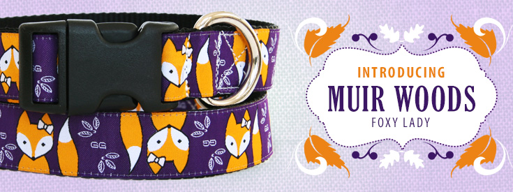 Introducing New Foxy Lady Dog Collar Pattern by Gwen Gear.