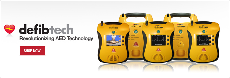 Defibtech Sold Here!