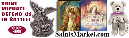 Saints Market Catholic Store carries St Michael Gifts