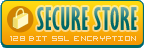 Secure Store - 128 bit ssl encryption