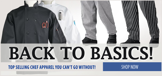 Basic Chef Coats