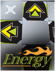 DDRGame Energy Metal Dance Pad