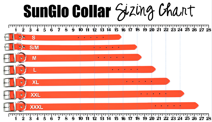 Sunglo Collar Sizing