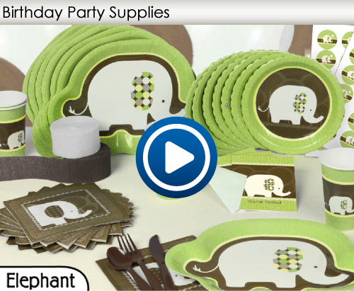 Birthday Party Supplies Video