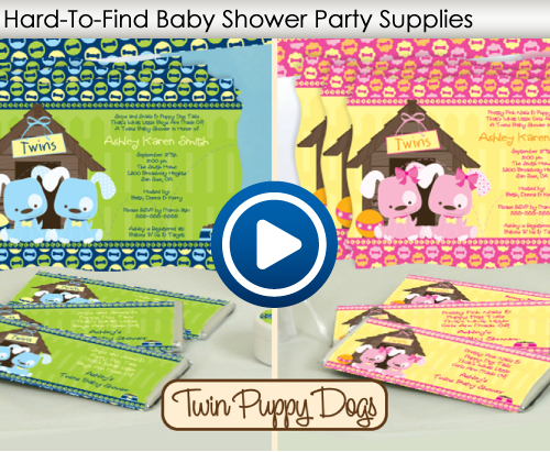 Hard-To-Find Baby Shower Supplies Video