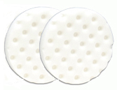 White Polishing Pads