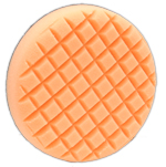 Cross Groove orange Light Cutting Flex Foam Buffing Pad