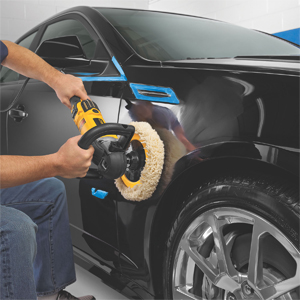 The DeWalt DWP849X Circular Polisher restores auto paint.