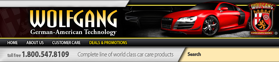 Wolfgang Car Care Products