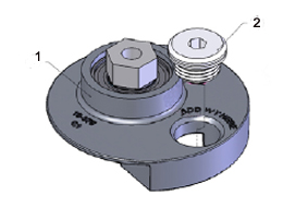 The Cyclo VES Silver Weighted Inserts balance the weight of the DoublePrecision Pads and adapters.