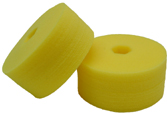 Cyclo Polisher DoublePrecision yellow Cutting pads