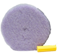 1 Foamed Wool 6.5 Inch Polishing/Buffing Pad