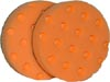 CCS 4 inch orange light cutting pads