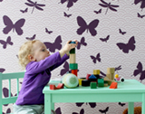 Butterfly Kids Wallpaper by ferm LIVING