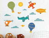 Petit Collage Wall Art and Wall Stickers
