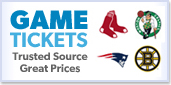 Tickets For Red Sox, Patriots, Celtics, Bruins