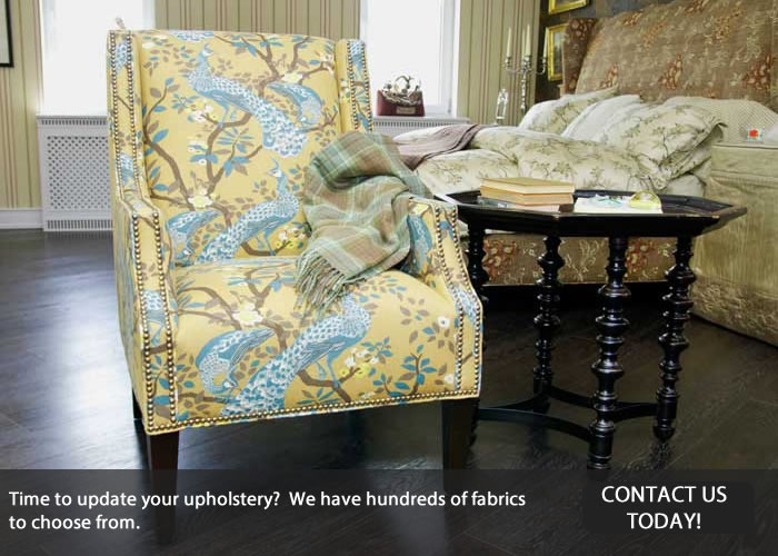 Contact Us for Upholstery