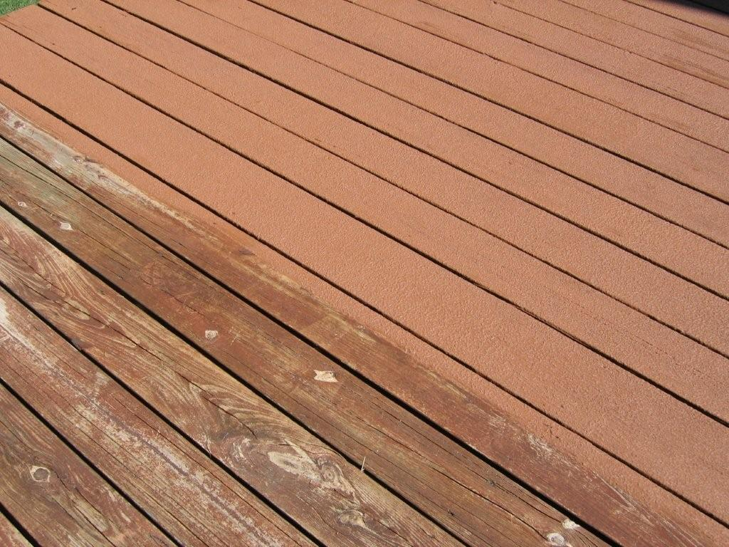 Deck Coating Renew For Concrete And Wood