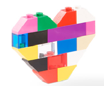 Color Lego Heart