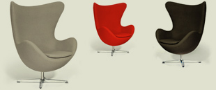 Jacobsen Style Egg Chair (Quick Ship)