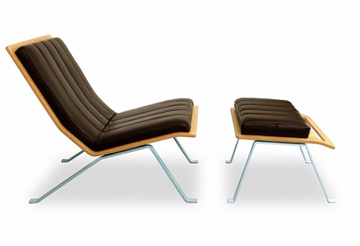 Elemental Living - Ilex Lounge Chair and Ottoman