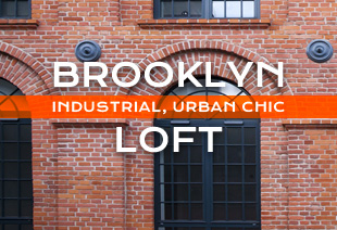 Brooklyn Industrial Urban Chic Loft