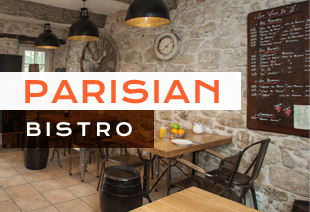 Parisian Bistro / Cafe Chairs & Tables