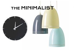 Modern Minimalist Furniture & Lighting Gifts