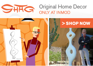 Shag Art Brought to Reality - Home Decor Designed by Shag & ModFab