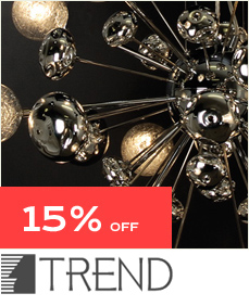 15% Off Trend Lighting - Only at Inmod