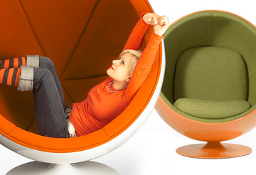 Modern Chairs - Ball Chairs
