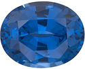Royal Blue Sapphire in Oval Cut