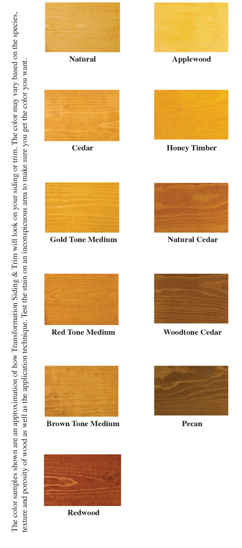 High sierra log stain now transformation siding trim for Log cabin exterior stain colors