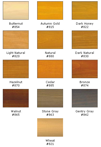 Log Chinking And Caulking Color Charts Chinking And Log