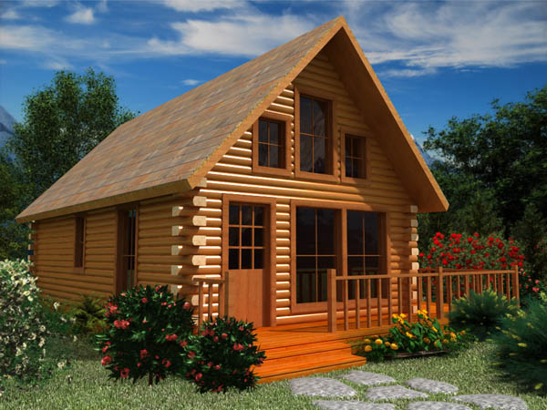 Weekend Log Cabin
