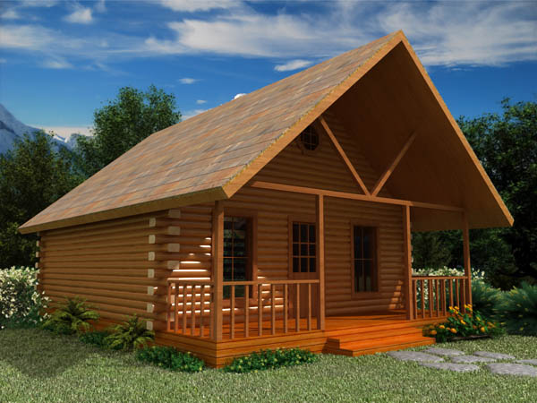 Missouri weekend cabin series for Weekend cottage plans