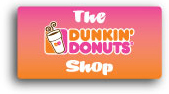 Dunkin Donuts Banners and Signs