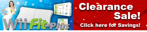 Wii fit Plus & Close out sale