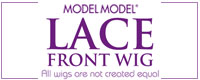 model model lace front wigs with baby hair