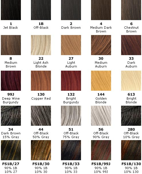 hair color chart red. hair dye color chart