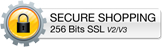 Secure Shopping 256 Bits SSL
