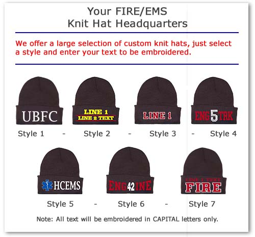 Custom Knit Hats & Ski Hats Embroidered With Your Logo