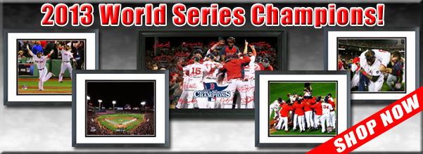 Boston Red Sox 2013 MLB World Series Champions Framed Pictures For Sale