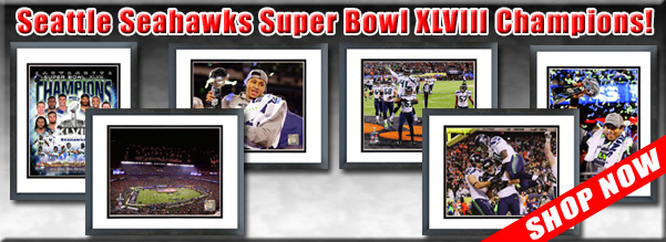 Super Bowl XLVIII - Broncos vs Seahawks - Framed Pictures For Sale